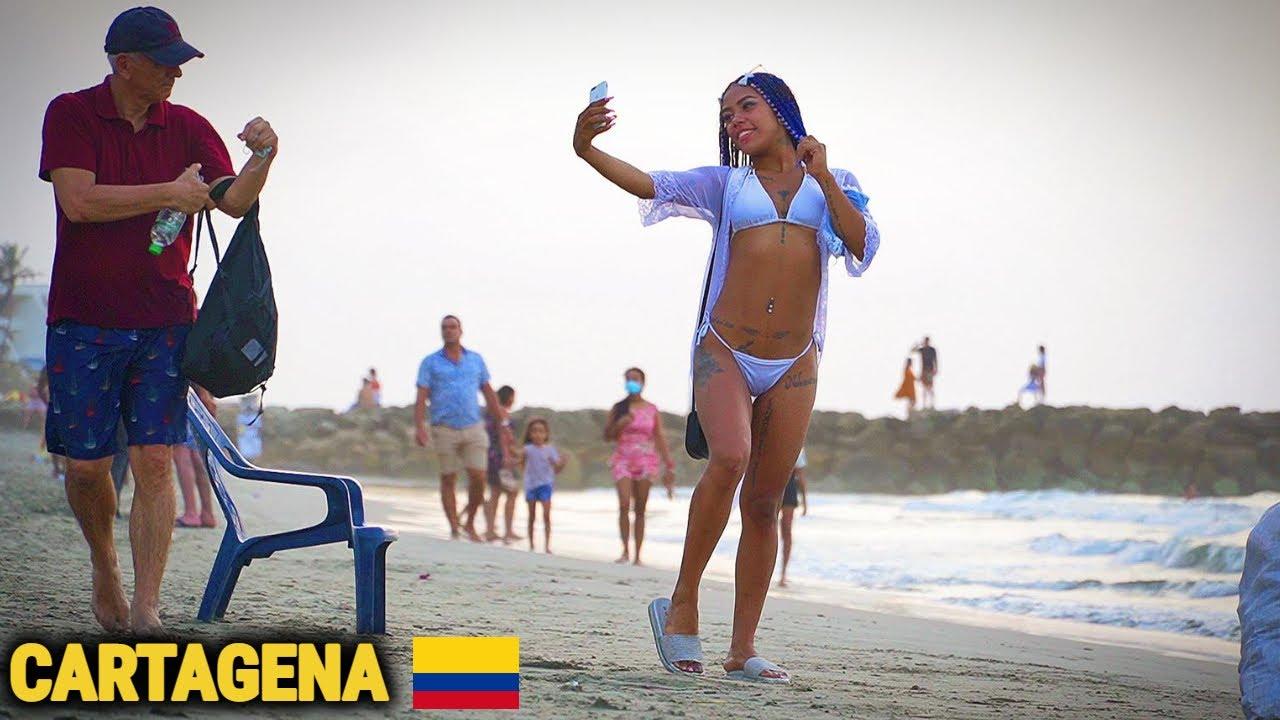 IN CAUTAREA MULATRELOR SEXY DIN CARTAGENA, locul cu cele mai frumoase femei din COLUMBIA