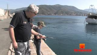 Rapture Lures - Light Rock Fishing Game in Liguria.