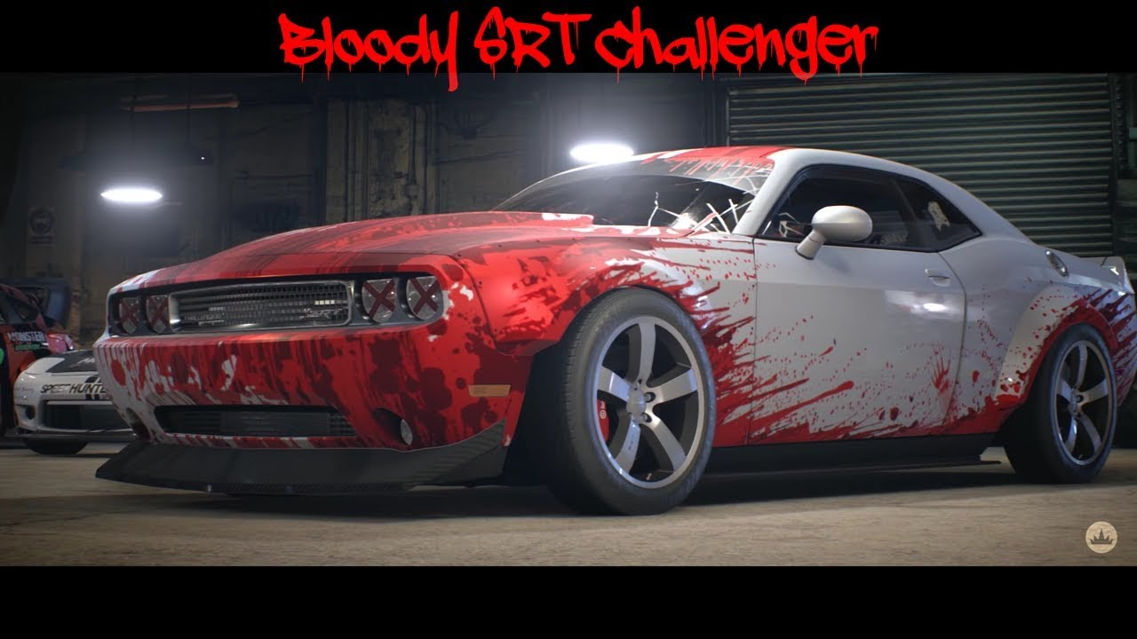 Blood Wrapped Srt Challenger Nfs 2015 Youtube