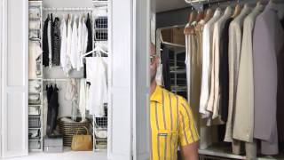Ideas For Closet Storage - Ikea Home Tour