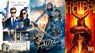 how to download and watch Hellboy|Men in black 3|Alita: Battle Angel in Hindi/eng