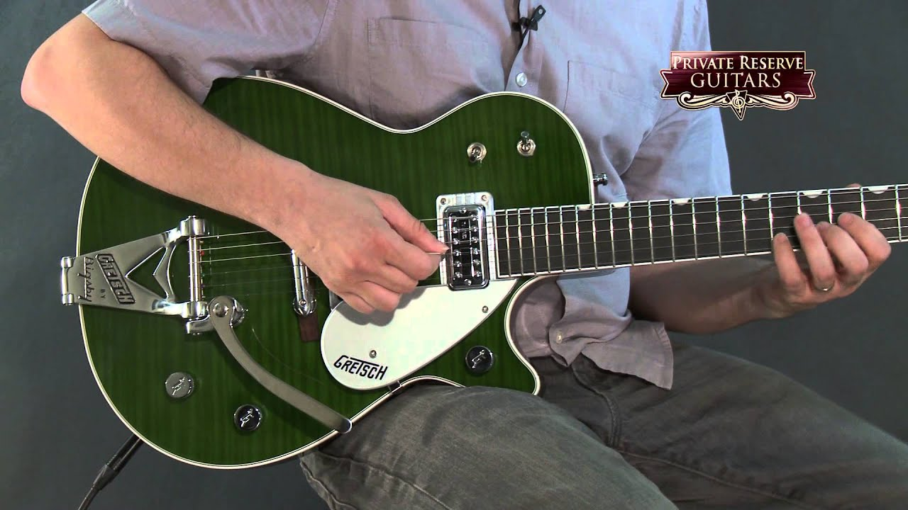 gretsch guitars g6128t tvtaftb power jet electr with loop