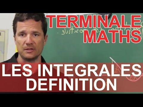 Les intégrales - Définition - Maths terminale - Les Bons Profs