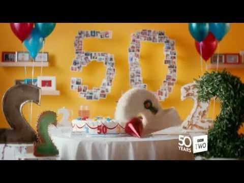 Bbc Two 50th Anniversary Cake Youtube