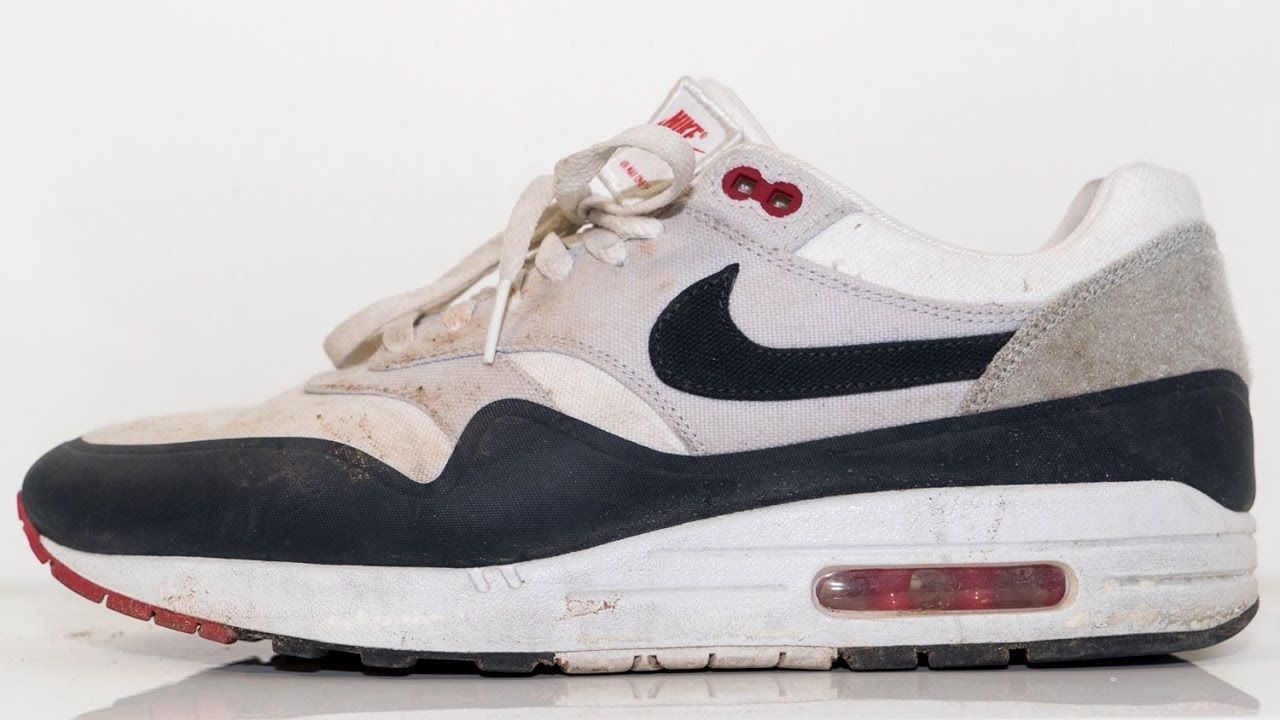 3afbfda62b42 Restorations with Vick - Air Max 1 Patches Deep Cleaning and Midsole  Repaint - YouTube