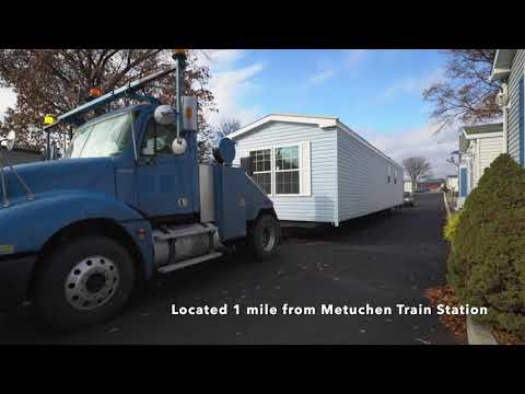Super FAST Delivery: 2 Bedroom 1 Bath Manufactured Home Arrives www.MyHomeInEdison.com