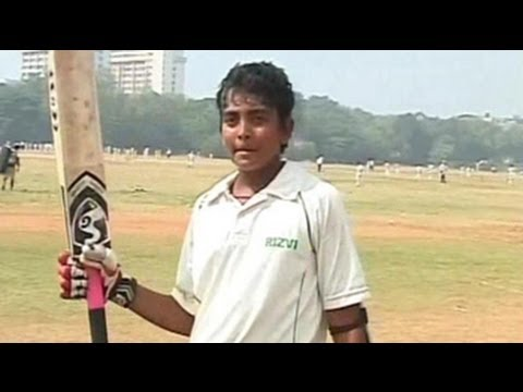 Mumbai schoolboy hits record 546 in Harris Shield Under-16 match