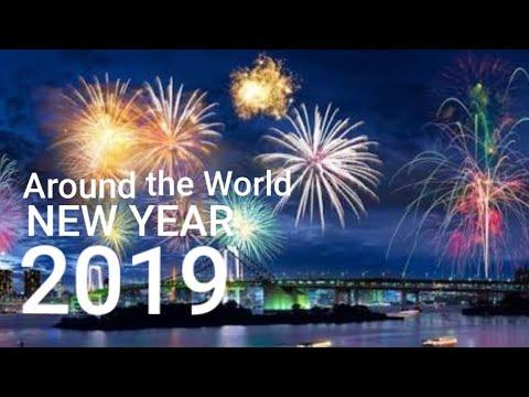 NEW YEAR'S EVE 2019 — Fireworks Display — Manila, Seoul, Tokyo, Taipei, Singapore, Sydney, Auckland
