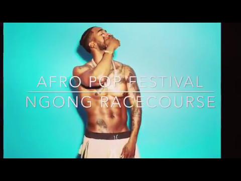 Omarion Afro Pop Festival At Ngong RaceCourse, Nairobi kenya.
