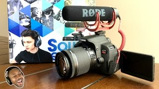 Canon EOS Rebel T5i (700D) For Gaming ► DSLR Unboxing - Video Creator Edition