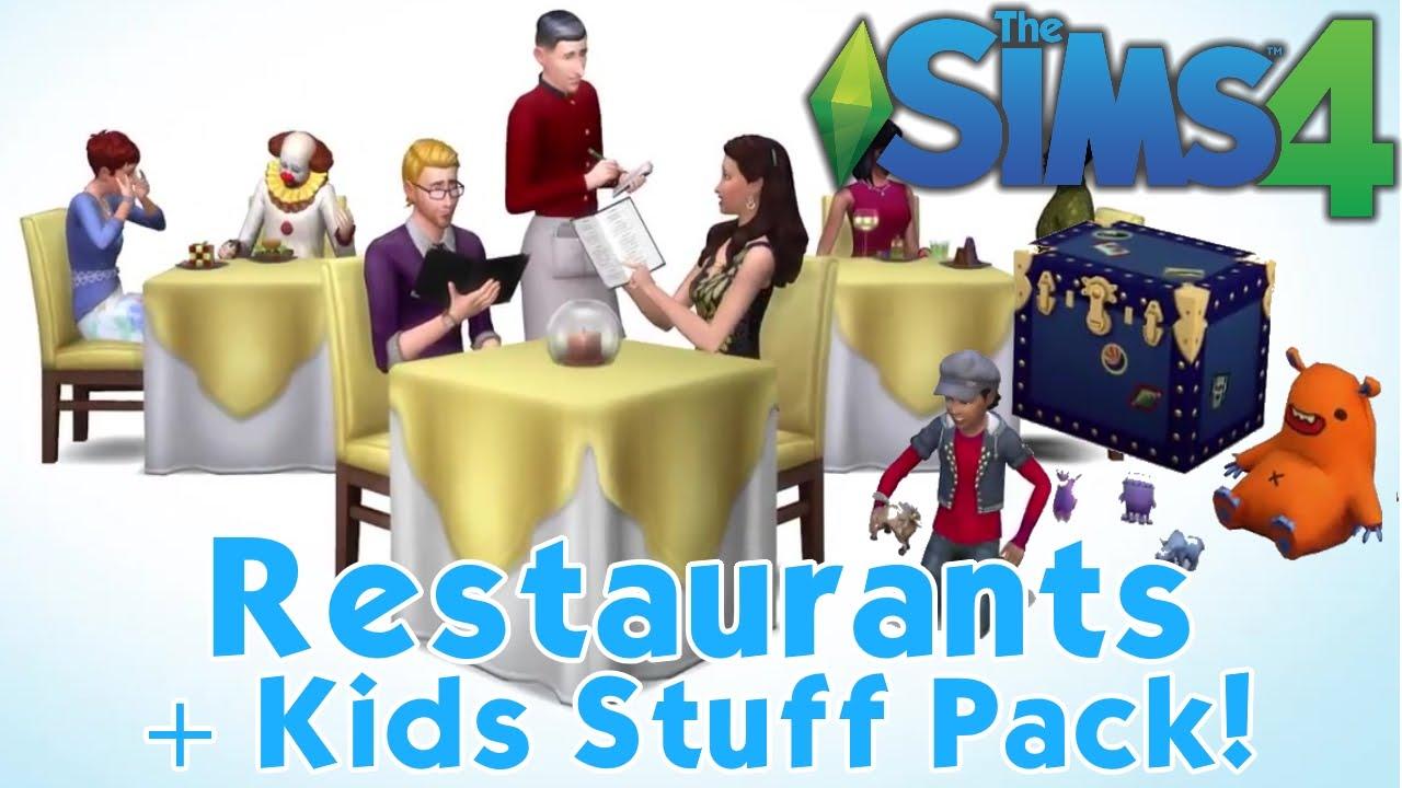 The Sims 4 Restaurants Kids Stuff Pack Teaser Thoughts Breakdown