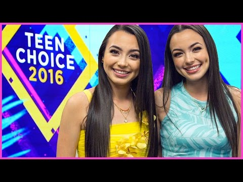 Get Ready W/ Merrell Twins for Teen Choice Awards!