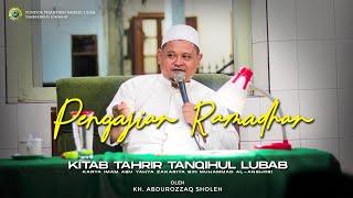 #2 Kitab Tahrir Tahqihul Lubab KH. Abdurrozaq Sholeh Pengajian Online Romadhon