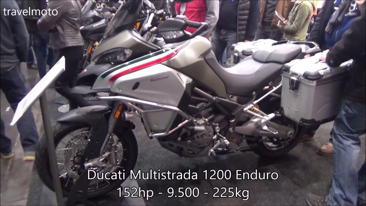 the new ducati 2017 multistrada 1200 enduro - youtube