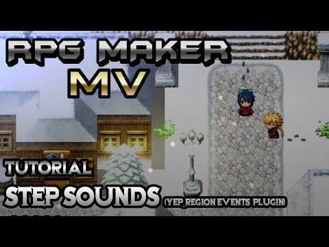 RPG Maker MV Tutorial: Step Sounds! (YEP_RegionEvents Plugin)