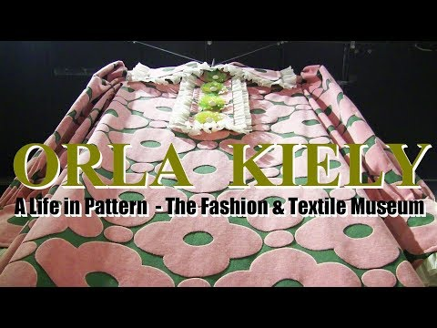 Orla Kiely Exhibition at Fashion and Texile Museum - Sewing Vlog