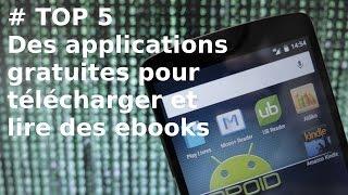 [TOP 5] Applis Android gratuites pour télécharger et lire des ebooks