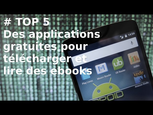lire un ebook sur tablette android