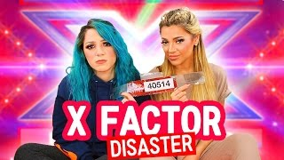 We Auditioned for X Factor (story time) + LIVE FOOTAGE | Niki and Gabi