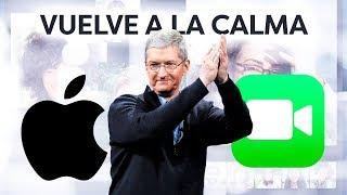 Apple vuelve a la calma