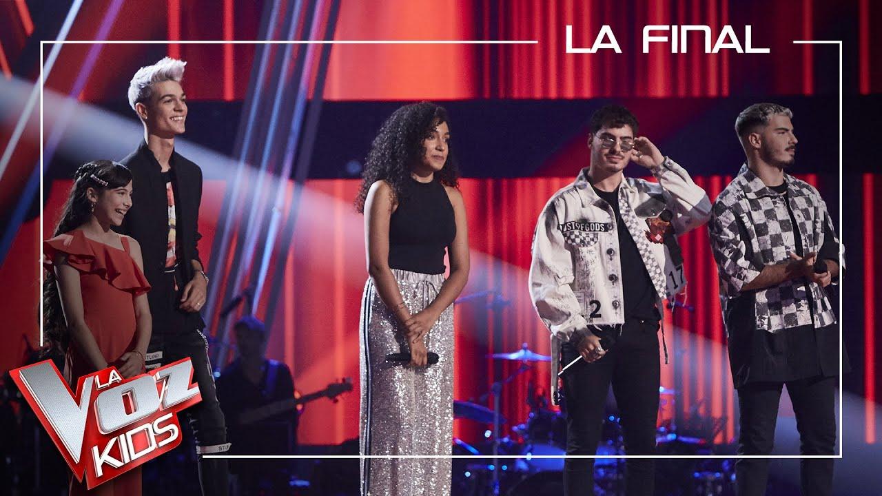 Los ex concursantes cantan en la final | Final | La Voz Kids Antena 3 2021
