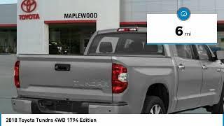 2018 Toyota Tundra 4WD 1794 Edition Maplewood, St Paul, Minneapolis, Brooklyn Park, MN J11807