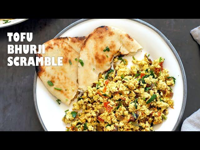 TOFU BHURJI – VEGAN BHURJI (INDIAN BREAKFAST SCRAMBLE) | Vegan Richa Recipes