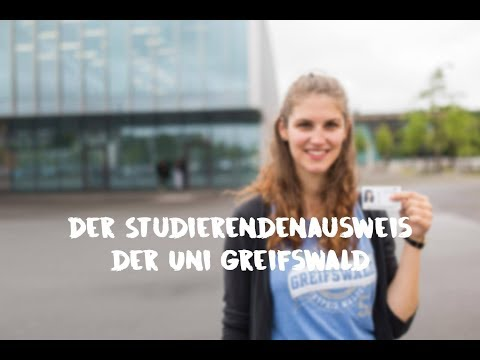 Der Studierendenausweis der Uni Greifswald