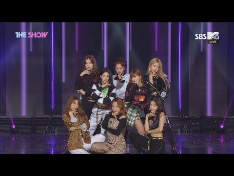 gugudan, Not That Type [THE SHOW 181113]