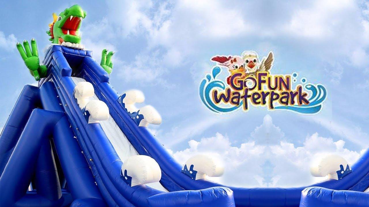 Wisata Gofun Waterpark Bojonegoro Youtube