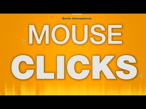Mouse Click - SOUND EFFECT - Clicking Computer Mausklick SOUND