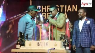 Alikiba, Ommy Dimpoz na Wema Sepetu ndani ya stage Moja na Christian Bella