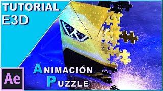 Tutorial: Puzzle clásico animado (Element 3D/After Effects)