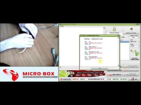 Samsung X200 Read Codes with Micro-Box - www.micro-box.com