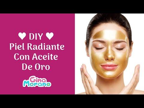 Piel radiante con aceite de oro - Radiant skin with gold oil ♥DIY♥