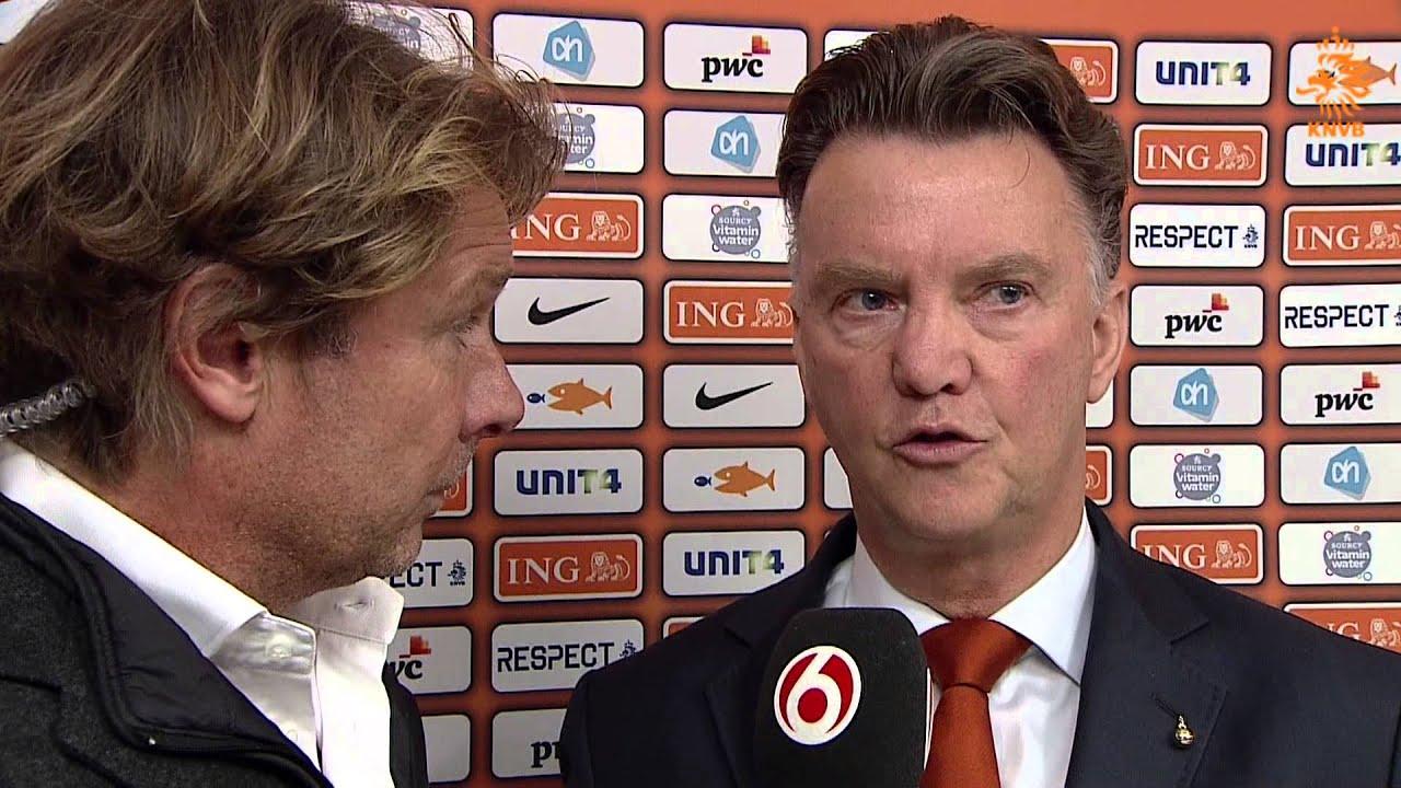 Interview Van Gaal Na Turkije-Nederland 15-10-2013