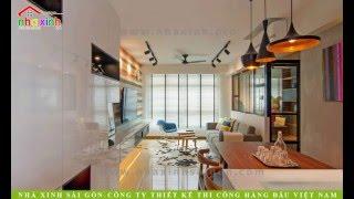 Nhà Xinh ® Thiết Kế Nội Thất Căn Hộ Novaland
