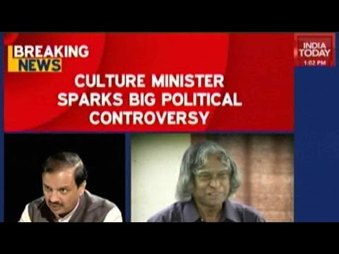 Culture Minister Sparks Big Political Controversy