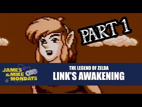 Zelda: Links Awakening (Game Boy) Part 1 – James & Mike