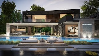 Extraordinary Conceptual Design Of 6,000 Sf Hollywood Hills Modern Home By Clr Design Group