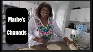 Cook with Mathe!  KENYAN CHAPATIS