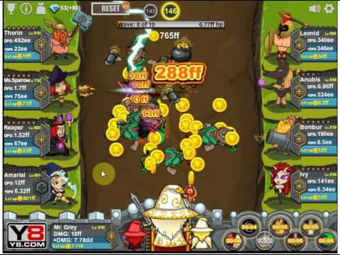 epic clicker saga of middle earth gameplay 5 breaking