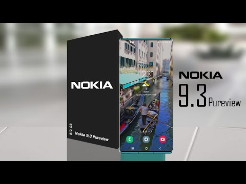 Nokia 9.3 Pureview  - Fast 120hz, In Display Camera