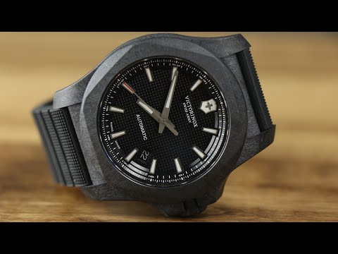 Swiss Army INOX Forged Carbon Automatic