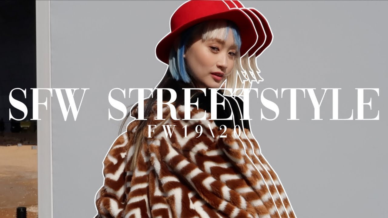 Streetstyle Seoul Fashion Week Fall Winter 2019 Youtube