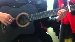Tự khúc mùa đông guitar