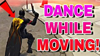 EMOTE while MOVING GLITCH new fortnite glitch | emote glitch PS4/Xbox one/PC