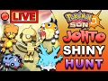 POKEMON SHINY HUNTING - SHINY JOHTO GEN 2 LIVESTREAM - SUN MOON/POKEMON GO UPDATE
