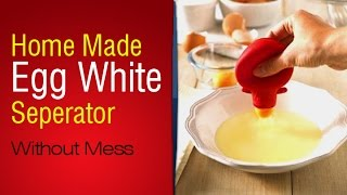 Easiest Way To Seperate Egg White From Yolk | Very Cool Way To Separate Egg Yolk