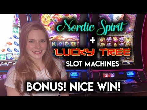 VERY LUCKY SESSION! Lucky Tree Slot Machine!!